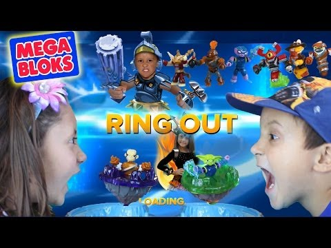 Real Life Battle Mode: RING OUT! Frost Guard Battle Arcade by Mega Bloks - Skylanders Swap Force