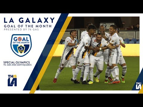 Video: Special Olympics athlete hits one from way outside the box | Goal of the Month - presented by 76 Gas