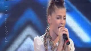 X Factor Albania 2 - 18 Nentor 2012 - Xhulia Torba