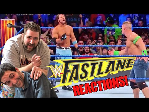 GRIMS CRAZY WWE FASTLANE 2018 REACTIONS - REVIEW - RESULTS!