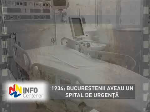 1934: Bucureştenii aveau un spital de urgenţă