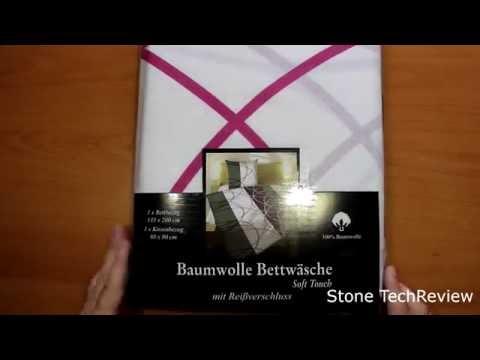 Unboxing TOP Bettwäsche Garnitur 2-4 teilig Microfaser oder Baumwolle mit RV