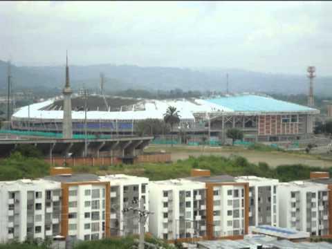 Obras en el estadio Hernán Ramírez Villegas