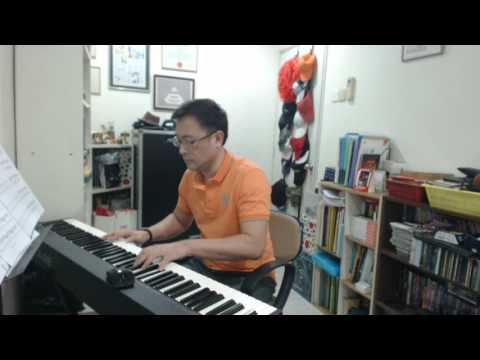 TVB Burning Hands|乘勝狙擊 Yat Gor|一哥 & Win Jeh|Win姐 Love Song| piano cover|Music Sheet by Hou Yean Cha