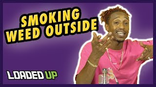 Tips For Smoking Weed Outside | Weed Code by Loaded Up