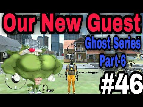 General Jack Came In Our House.Ghost Series Part-6. Rope Frog Ninja Hero Gameplay #46.