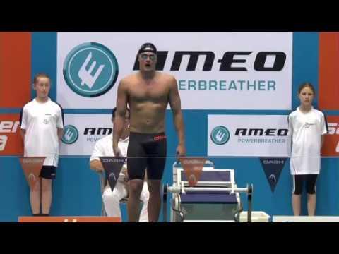 DM 2016 -100m Rücken Finale - Jan Philipp Glamia
