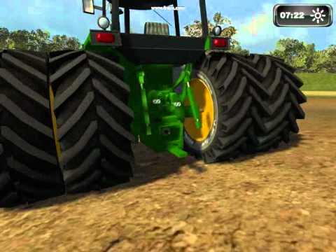 Farming Simulator John Deere 4440 Pulling