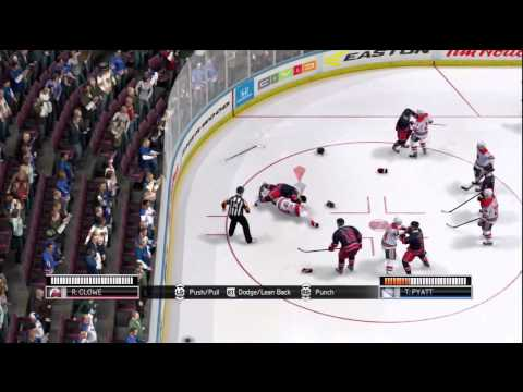 online game - First online game of the brand new Nhl 14 game on xbox 360.