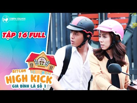 Hài sitcom Gia đình là số 1 tập 16 Thu Trang bàng hoàng khi con trai Phát La bị bạn gái tát