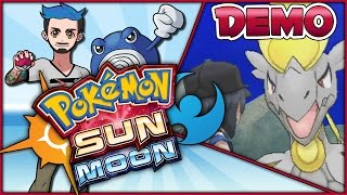 POKÉMON SUN AND MOON SPECIAL DEMO VERSION   Full-Length Let's Play w/Ace Trainer Liam by Ace Trainer Liam