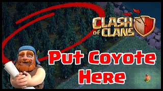 Video 🐺COYOTE SPOTTED in CLASH OF CLANS NIGHT MODE VILLAGE BUILDER'S HALL BASE! HIDDEN UPDATE EASTER EGG! MP3, 3GP, MP4, WEBM, AVI, FLV Agustus 2017