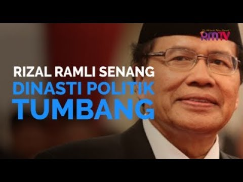 Rizal Ramli Senang Dinasti Politik Tumbang