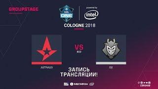 Astralis vs G2 - ESL One Cologne 2018 - map1 - de_dust2 [GodMint, SSW]