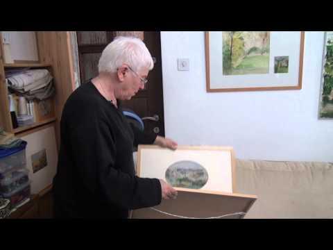 מרגלית בסן – אמנית ציור, ריקמה וזכוכית