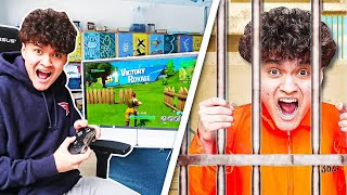I Went to PRISON for Playing Fortnite in School