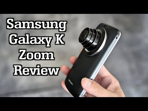Samsung Galaxy K Zoom Review!