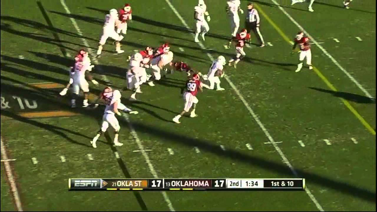 Joseph Randle vs Oklahoma (2012)