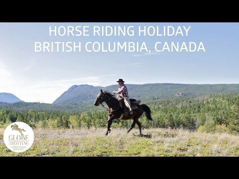 Horse riding holiday in British Columbia, Canada