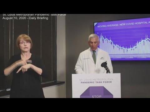 St. Louis Metropolitan Pandemic Task Force sees coronavirus data trending in the right direction