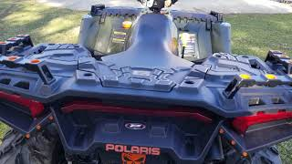 5. 2018 polaris sportsman 850 HO mods