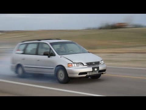 The Turbo Minivan makes TOO MUCH Power! (видео)