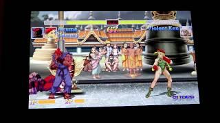 Ultra Street Fighter 2 - The New Challengers: Notre Test Video Review sur Nintendo Switch, en mode portable, de ce jeu de baston vendu 40€ et proposant une version HD avec graphismes totalement remis au goût du jour d'Ultra Street Fighter 2. Ajoutez-y deux persos inédits et overcheatés (Evil Ken et Evil Ryu) ainsi qu'un mode à la première personne totalement bancal, et vous obtenez un titre vendu bien trop cher pour ce qu'il est! A éviter d'autant plus que la maniabilité aux Joy-Con est vraiment horripilante.Filmé en 1080p@30fps avec la Sony Handycam FDR-AX33.- Les points positifs: Retrouver le mythique Street Fighter 2/ Pas mal de persos/ Un gameplay technique/ Les artworks inédits de la saga/ Les musiques et digits vocales/ Possibilité de jouer avec les graphismes d'époque- Les points négatifs: Le prix scandaleux/ Le mode story rachitique/ Les persos additionnels over cheatés/ La refonte graphique flingue un peu le style SF2/ Le mode à la première personne loin d'être amusant/ La maniabilité juste impossible aux Joy-Con- La Note Vidéo-Test: 6/20