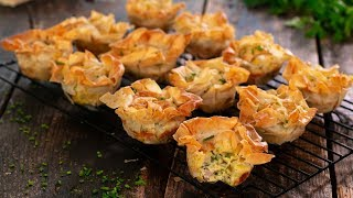Filo Mini Quiches