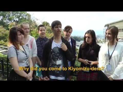 Travelers' Voice of Kyoto: KIYOMIZU DERA Area Interview013 Autumn02