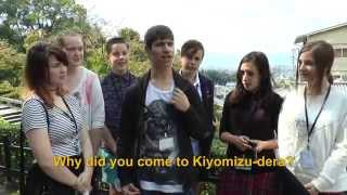 Travelers' Voice of Kyoto: KIYOMIZU DERA Area Interview013 Autumn02