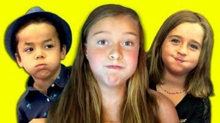 Kids React to The Closed Mouth Singer