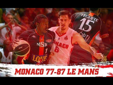 PLAYOFFS — Monaco 77-87 Le Mans — Finale, match 2 — Highlights