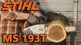 1. Stihl MS 193T Overview/Review