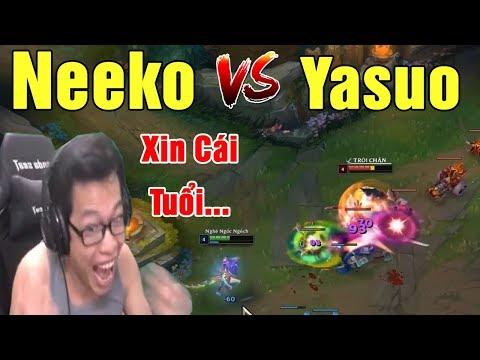 Neeko Full AP vs Yasuo | Cho Xin Cái Tuổi Luôn - Hành Ngập Mồm | Trâu best Udyr - Thời lượng: 20 phút.