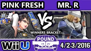 Mr. R (Sheik) vs. Pink Fresh (Bayonetta) — Pound 2016