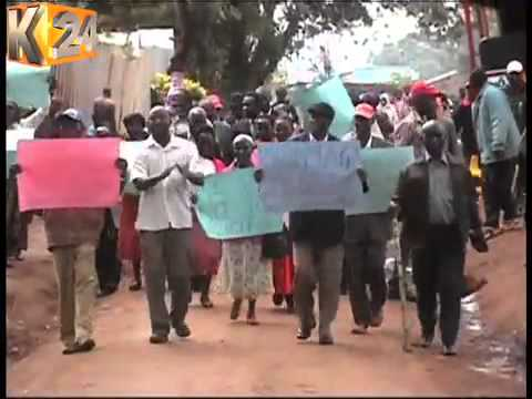 Church members attacked as they protest against illicit brews