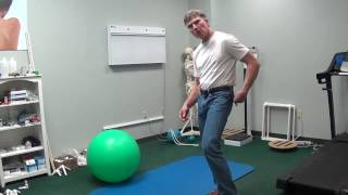 Using the Tripod for Hip,Lower and Mid Back Pain