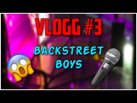 BACKSTREET BOYS! (Vlogg #3)