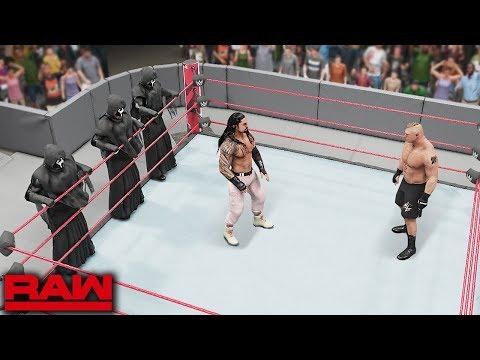 WWE 2K19 Custom Story - Brock Lesnar Reveals Master Plan To Trap Reigns ft. McIntyre, Lashley - Ep 2