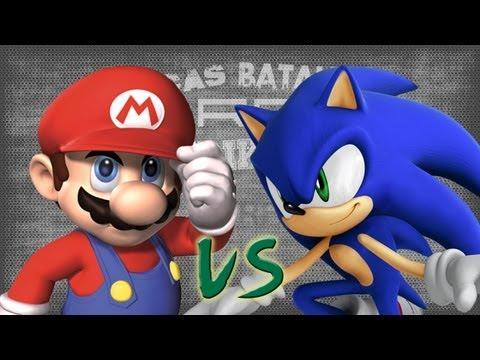 Mario vs Sonic. Épicas Batallas de Rap del Frikismo | Keyblade