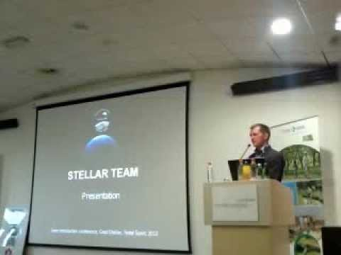 Team stellar press conference - opening speech by CEO Stjepan Bedić