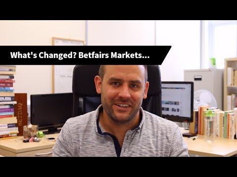 What's Changed? Impact On Betfairs Markets