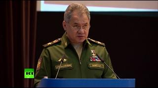 Шойгу: операция ВКС России в Сирии прервала цепь «цветных революций» на Ближнем Востоке