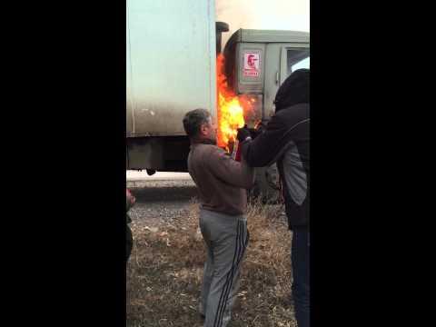 Огнетушители на камаз фотография