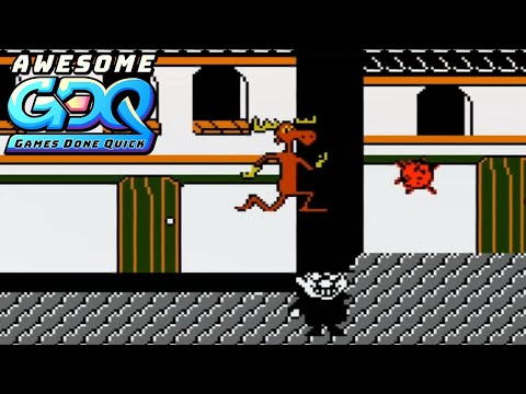 The Adventures of Rocky and Bullwinkle and Friends by coolkid in 4:48 - AGDQ2020