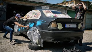 Video Painting his NEW BMW with GRAFFITI! MP3, 3GP, MP4, WEBM, AVI, FLV Mei 2019