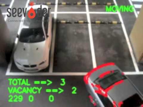 Parking Guidance with SeeVider's Vision Sensor (Garage)