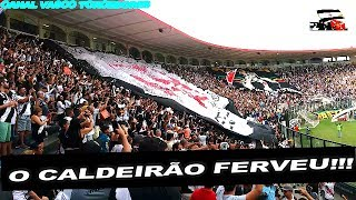"""Vasco 3 x 2 Fluminense - Trechos da torcida Vascaína no Estádio São Januário, """"Caldeirão"""" jogo válido pela 3° rodada do..."""