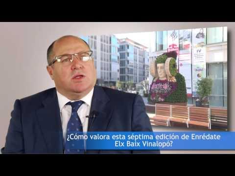 """""""Antes de emprender, con�cete a ti mismo"""" Enrique Mart�n en #EnredateElx 2016[;;;][;;;]"""