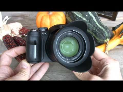 Panasonic Lumix DMC-FZ40 Review